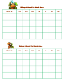 Things I Need To Work On Dinosaur Train Template