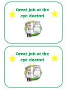 Eye Doctor Chart