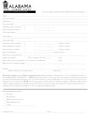 Change Of Address Form - Alabama Credit Union