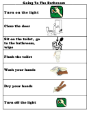 Going To The Bathroom Chart