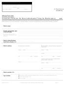 Official Form 201 - Voluntary Petition For Non-individuals Filing For Bankruptcy