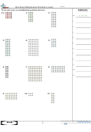Rewriting Multiplication Problems (visual) - Math Worksheet With Answer Key
