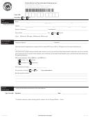 Retiree Notice Of Postretirement Employment Form - Alabama