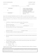 Notice Form Designee Of Final Decree Or Order Of Adoption Of An Indian Child