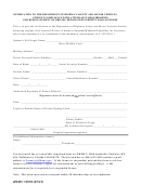 Form Hsmv 72870 - Student Compliance With Attendance Requirements For Reinstatement Of Driving Privilege/eligibility For Licensure