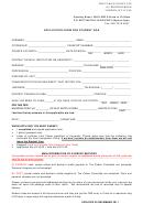 Application Form For Student Visa