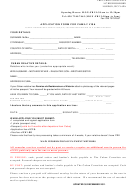 Application Form For Family Visa