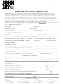 Independent Study Application Form