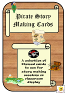 Colored Game Card Template - Pirates