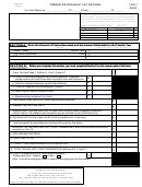 Form Wv/sev-401t - Timber Severance Tax Return - 2005
