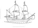 Ship Coloring Sheet