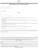 Form 6 - Subpoena - United States Court Of Federal Claims