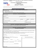 Dbpr Form Abt-6015 - Examination Application