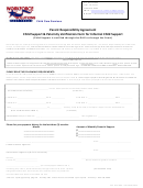 Parent Responsibility Agreement Of Informal Child Support Form