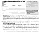 Council Registration Form