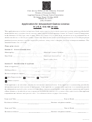 Application Form For Amusement Games License N.j.s.a. 5:8-100 Et Seq - New Jersey Office Of The Attorney General