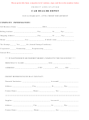Car Dealer Depot Form