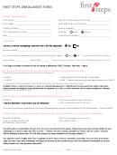 Enrollment Form - First Steps