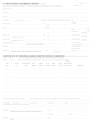 Application For Embryo Export Form - 2008