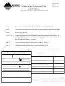 Form Cct - Consumer Counsel Tax April 2006