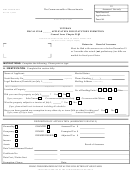 State Tax Form 96-4 - Veteran Application For Statutory Exemption - 2005