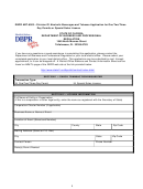 Dbpr Form Abt-6003 - Division Of Alcoholic Beverages And Tobacco Application For One/two/three Day Permits Or Special Sales License