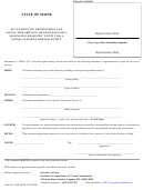 Form Sop-appt - Statement Of Appointment Of Agent For Service Of Process For A Nonfiling Domestic Entity Or A Nonqualified Foreign Entity