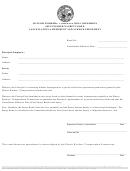 Illinois Workers' Compensation Commission Self-insurer's Surety Bond Cancellation Amendment And Acknowledgement Form