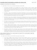 Affidavit For Bidder, Offerors And Contractors Form
