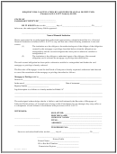 Request For Cancellation By Licensed Financial Institution Form