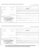 Agricultural Pest Control Adviser County Registration Form
