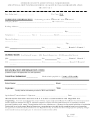 Structural Pest Control Business / Qualifying Manager Registration Form