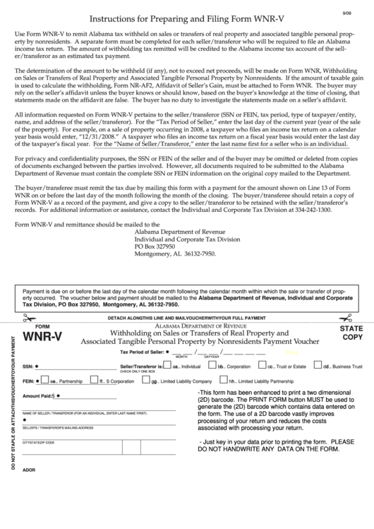 Top Alabama Withholding Form Templates free to download in PDF ...