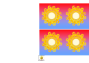 Sunny Weather Classroom Display Border Template