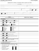Form F-62652 - Home Health Agency Licensure Survey Home Visit Form