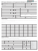 Form Tc-852 - Irp Original And Supplemental Application Forms