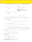 Complaint For Dissolution Of Marriage Form