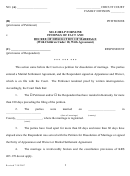 Form For Findings Of Fact And Decree Of Dissolution Of Marriage (children Under 18)