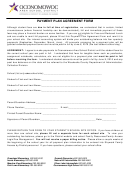 Payment Plan Agreement Form - Oconomowoc Area School District