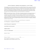 Form 9783.1 - Notice Form For Personal Chiropractor Or Personal Acupuncturist 2014