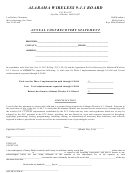 Annual Cost Recovery Statement - Alabama
