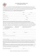 Non-prescription Medication Authorization Form