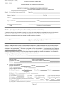 Form Dma 5006 - Report Of Medical Examination North Carolina Department Of Human Resources