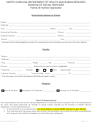 Form Dss-5272 - Facility Id Number Application Form - North Carolina Department Of Health And Human Services
