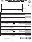 Form It-141 - West Virginia Fiduciary Income Tax Return