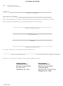 Statement Of Change Of Registered Office/agent Cover Letter Template