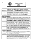 Bingo Application Forn Information Sheet - West Virgonia Department Or Tax And Revenue - Criminal Investigation Dovision - Bingo And Raffle Division