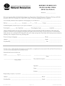 Report On Results On Plugging Well (oil & Gas Form 4) - Washington State Department Of Natural Resources
