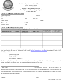 Form Gwr-03 - Area Of Ground Water Concern Monthly Ground Water Usage Report Form - Louisiana Department Of Natural Resources
