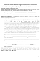 Release Form For Liability For Student-athletes Being Transported By Bus